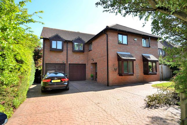 Thumbnail Detached house for sale in Aldrich Drive, Willen, Milton Keynes