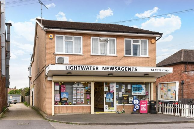 Thumbnail Retail premises for sale in Guildford Road, Lightwater