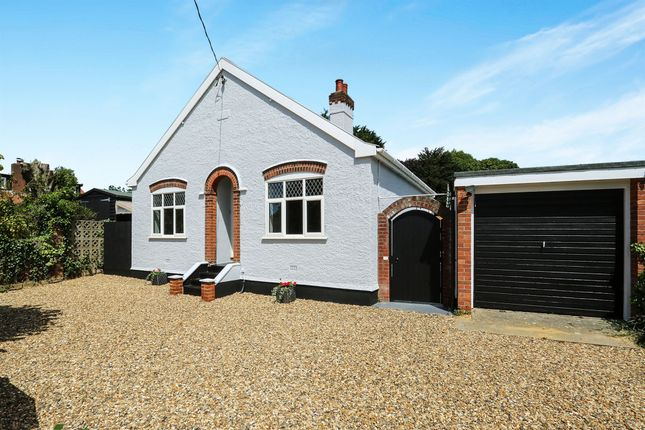 Thumbnail Detached bungalow for sale in Limes Avenue, Bramford, Ipswich