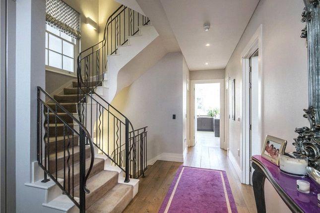 Hallway of Clifton Hill, St John's Wood, London NW8