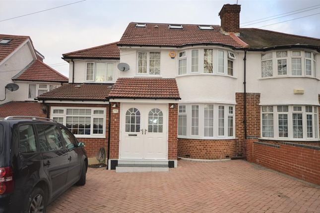 Thumbnail Semi-detached house for sale in Wentworth Hill, Wembley, Middlesex