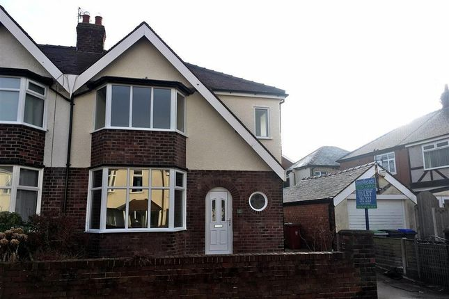 Thumbnail Semi-detached house to rent in Kendal Avenue, Blackpool