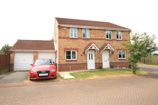 Thumbnail Semi-detached house for sale in Stony Close, Stainforth, Doncaster