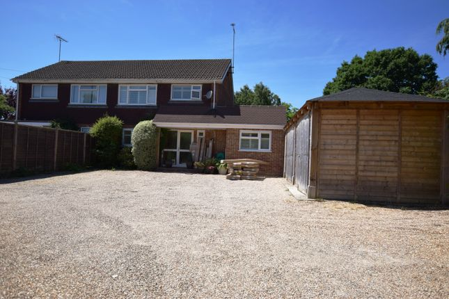 Thumbnail Semi-detached house for sale in Firacre Road, Ash Vale