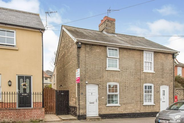 Thumbnail Semi-detached house for sale in Bury Street, Stowmarket