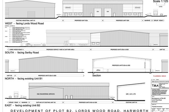 Thumbnail Light industrial to let in Unit 2, Plot B2, Harworth Industrial Estate, Serlby Road, Harworth, Doncaster, South Yorkshire