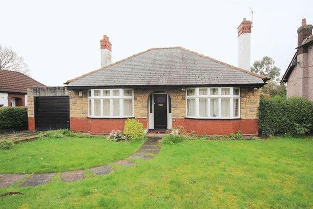 Thumbnail Detached bungalow for sale in Hale Road, Hale Village, Liverpool