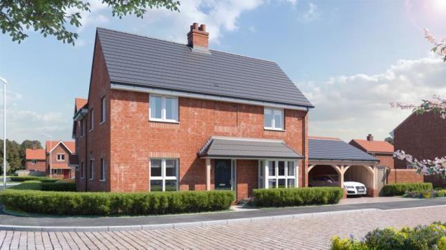 Thumbnail Detached house for sale in Birnam Mews, Oak Road, Tiddington, Stratford-Upon-Avon