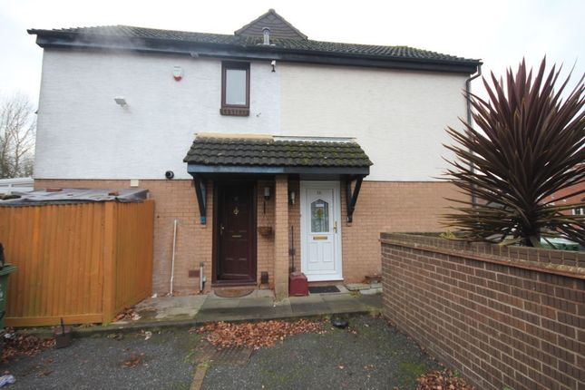 Thumbnail Semi-detached house to rent in Manordene Road, Thamesmead