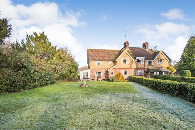 Thumbnail End terrace house for sale in Coombe Hill Road, East Grinstead, West Sussex