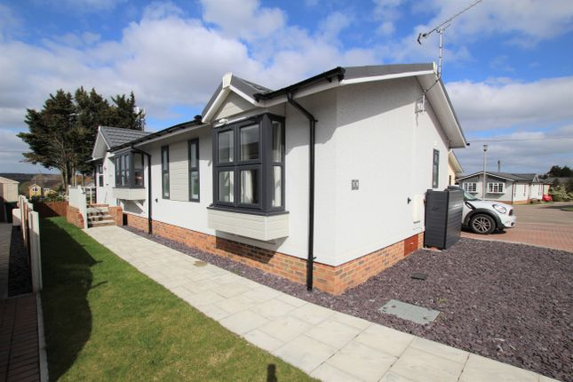 Thumbnail Mobile/park home for sale in Abridge Park Homes, London Road, Abridge, Romford