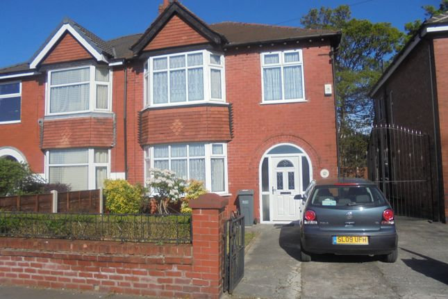 Thumbnail Semi-detached house for sale in Burnage Lane, Manchester