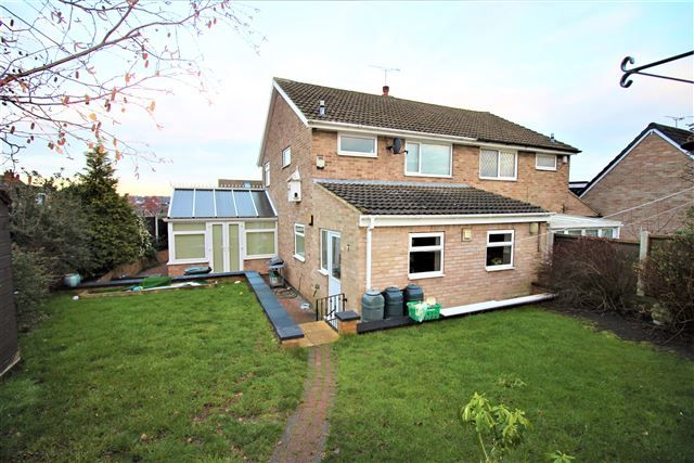 Thumbnail Semi-detached house to rent in Woodpecker Close, Aston, Sheffield, Rotherham