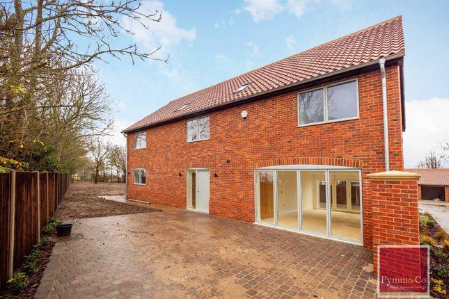Thumbnail Detached house for sale in Cuttons Corner, Hemblington, Norwich
