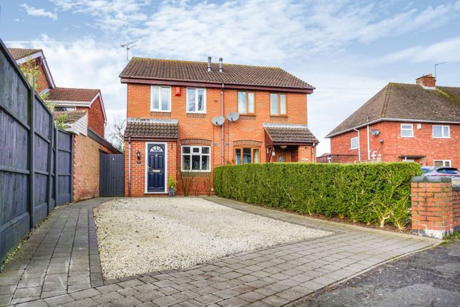 Thumbnail Semi-detached house for sale in Charles Avenue, Albrighton, Wolverhampton