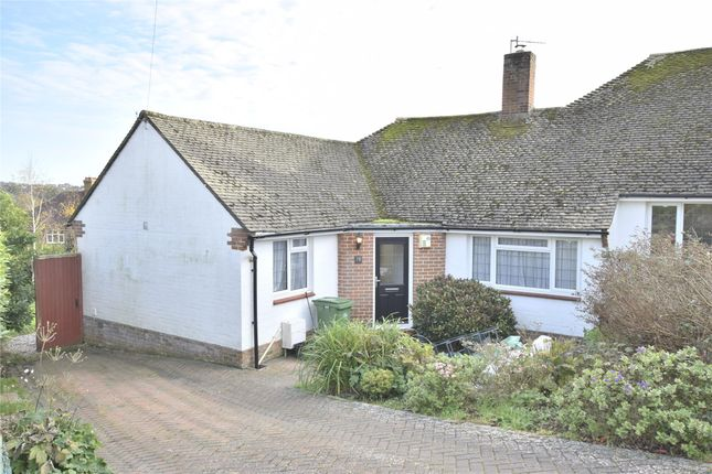 Thumbnail Semi-detached bungalow to rent in Oakwood Close, Hastings, East Sussex