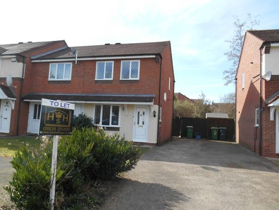 Thumbnail End terrace house to rent in Lapwood Drive, Shrewsbury