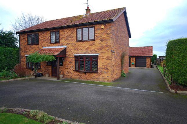 Thumbnail Detached house for sale in Backgate, Cowbit, Spalding