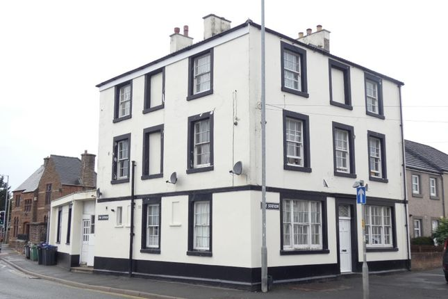 Thumbnail Block of flats for sale in Station Inn, Main Road, Maryport, Cumbria