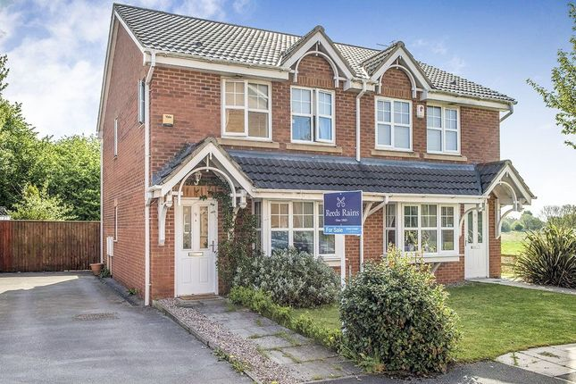Thumbnail Semi-detached house for sale in Longacre, Hindley Green, Wigan