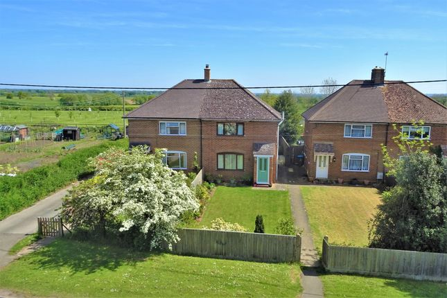 Thumbnail Semi-detached house for sale in Wingrave Road Cottages, Wingrave Road, Aston Abbotts