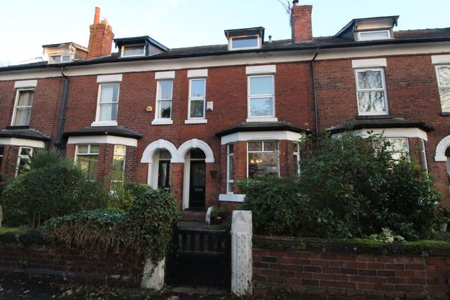 Thumbnail Terraced house to rent in Burton Road, Didsbury, Manchester