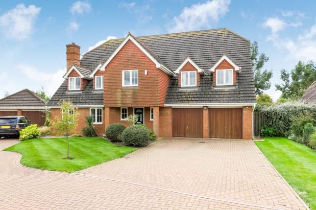 Thumbnail Detached house for sale in Prestwick Road, Great Denham, Bedford, Bedfordshire