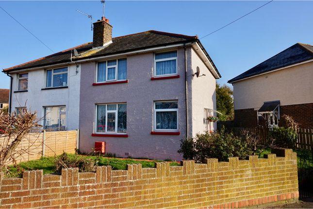 3 bed semi-detached house for sale in Collyer Avenue, Bognor Regis