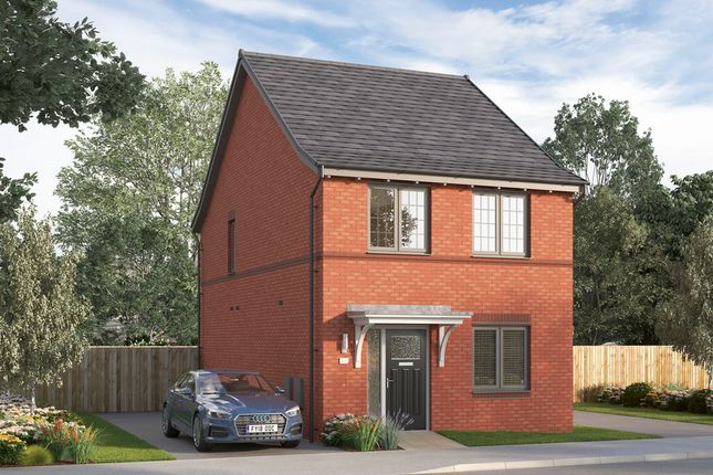 Thumbnail Detached house for sale in Olympus Avenue, Tachbrook Park, Warwick