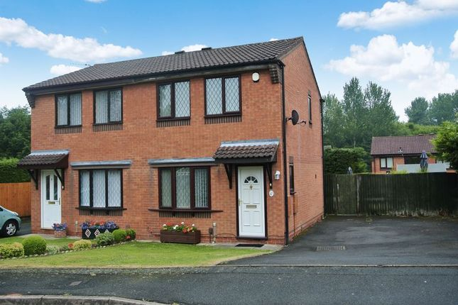 Thumbnail Semi-detached house for sale in Long Lane Drive, Madeley, Telford, Shropshire.