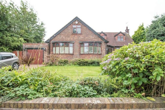 Thumbnail Detached bungalow to rent in Woodlands Road, Worsley, Manchester
