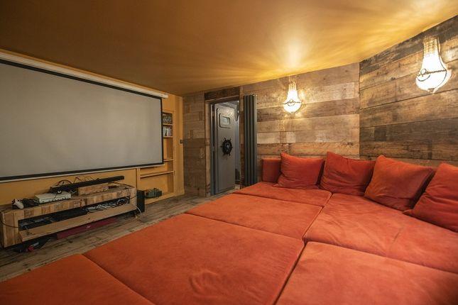 Cinema Room of Bath House West Hill Road, St. Leonards-On-Sea, East Sussex. TN38