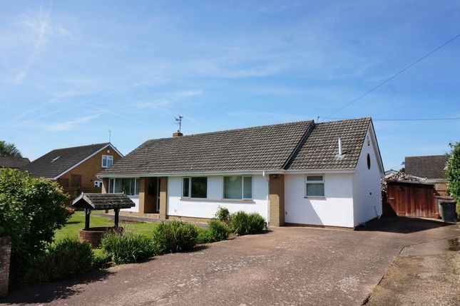 Thumbnail Bungalow for sale in Francis Close, Creech Heathfield, Taunton