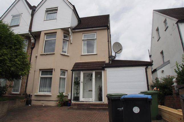 Thumbnail Semi-detached house for sale in Osborne Road, Enfield