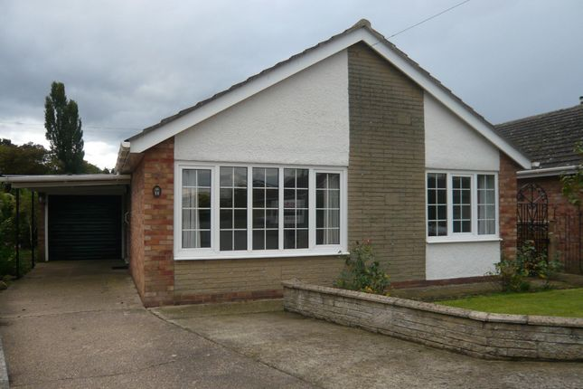 Thumbnail Detached bungalow to rent in Welland Close, Ruskington, Sleaford