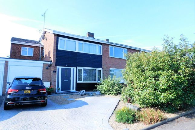 Thumbnail Semi-detached house for sale in Chase Close, Arlesey, Beds