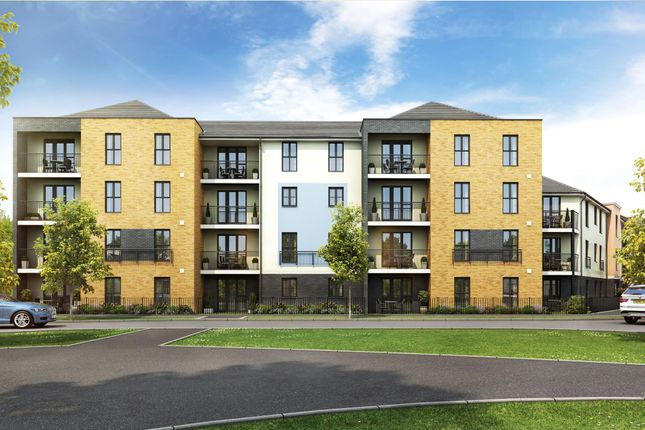 "Thumbnail Flat for sale in ""Concorde"" at Square Leaze, Patchway, Bristol"