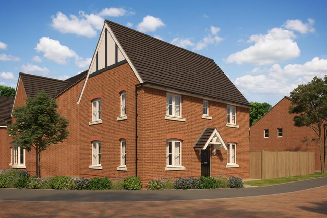 "Thumbnail Detached house for sale in ""Hadley"" at The Walk, Withington, Hereford"