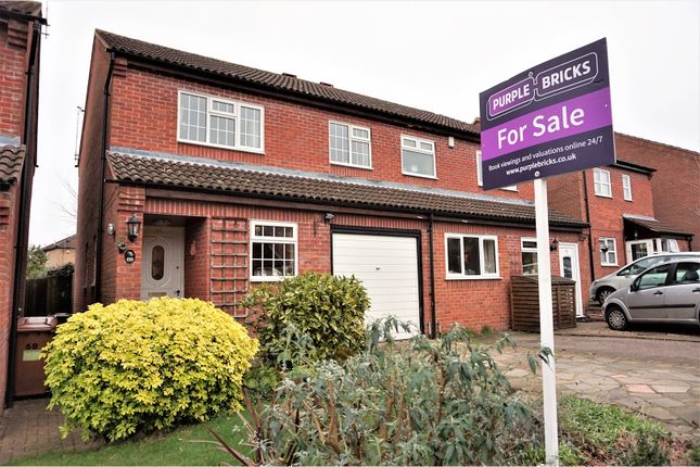Thumbnail Semi-detached house for sale in Berkeley Close, Abbots Langley