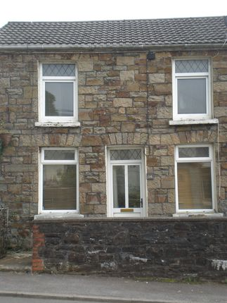 Thumbnail End terrace house to rent in Merthyr Road, Llwydcoed, Aberdare