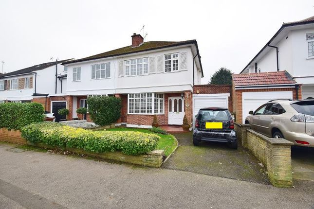 Thumbnail Semi-detached house for sale in Cannonbury Avenue, Pinner, Middlesex