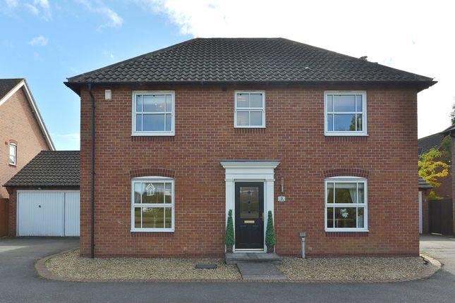 Thumbnail Detached house for sale in Poachers Close, Grange Park, Northampton