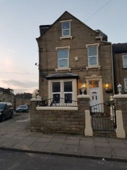 Thumbnail End terrace house for sale in New Cross Street, Bradford, West Yorkshire