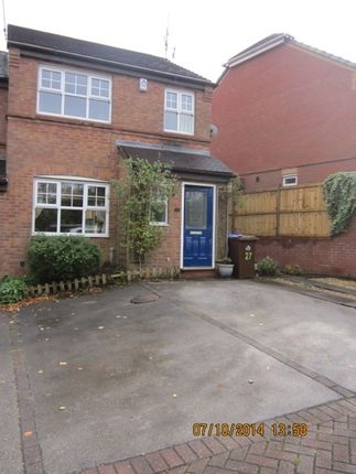 Thumbnail 3 bed semi-detached house to rent in Charlestown Grove, Stoke On Trent