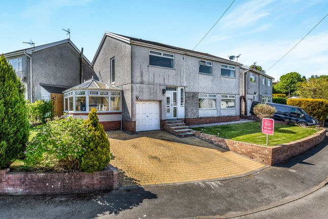 Thumbnail Detached house for sale in Awelfryn, Penycoedcae, Pontypridd