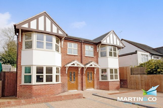 Thumbnail Semi-detached house for sale in Portland Road, Edgbaston