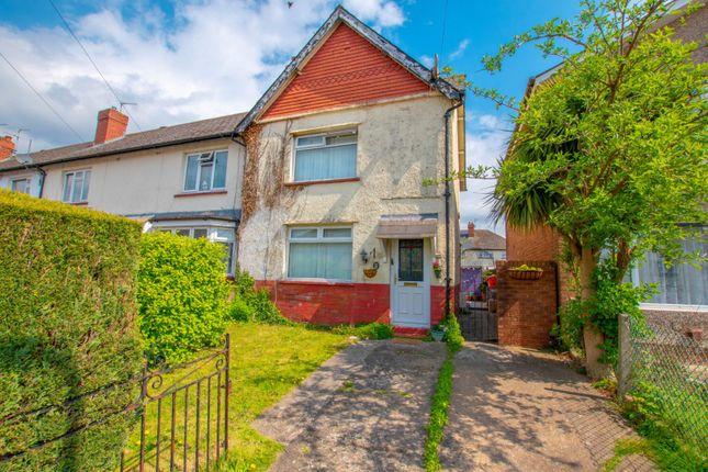 Thumbnail Semi-detached house for sale in Llantarnam Road, Cardiff
