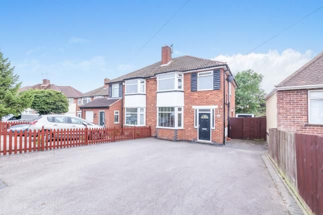 3 bed semi-detached house for sale in Branting Hill Avenue, Glenfield, Leicester, Leicestershire LE3