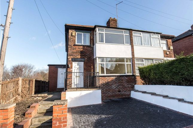 Thumbnail Semi-detached house for sale in Baron Close, Leeds, West Yorkshire