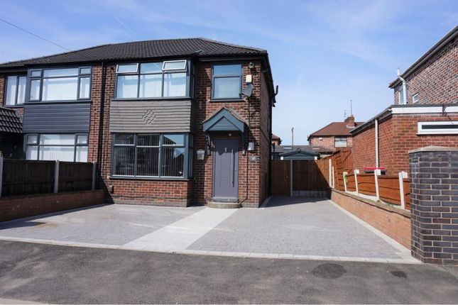 Thumbnail Semi-detached house for sale in Peveril Road, Salford